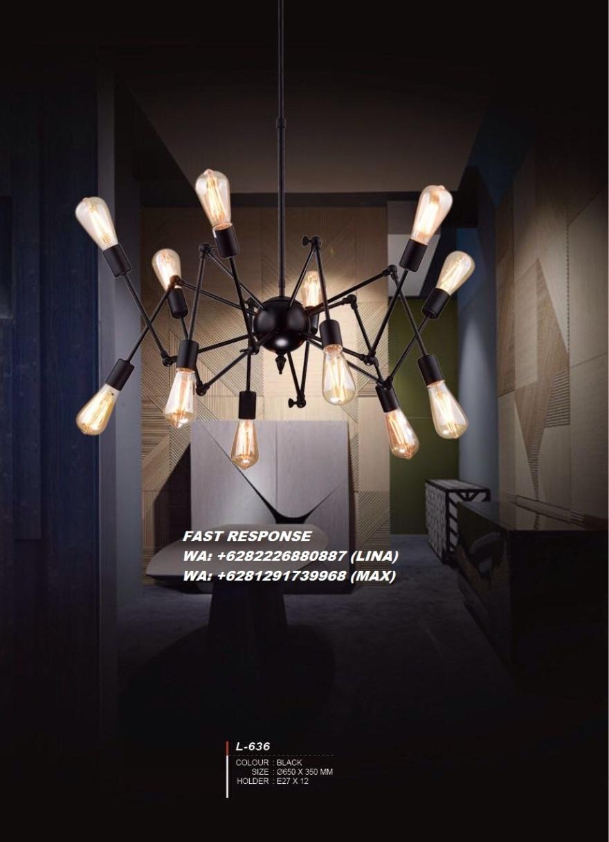 A26 LAMPU HIAS LAMPU GANTUNG INDUSTRIAL JOGJA LABA-LABA